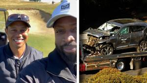Tiger Woods Gave Dwayne Wade Golf Lessons the Day Before His Accident