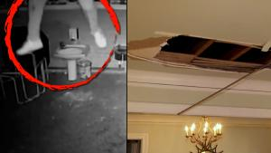 Epic Stories About People and Things That Fell Through Ceilings