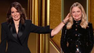 Golden Globes: How Tina Fey and Amy Poehler Appeared Next to Each Other