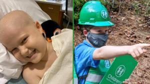 11-Year-Old Who Beat Leukemia Helps Construct New Children's Hospital