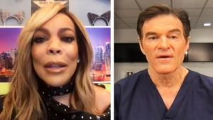 Dr. Oz Tries to Persuade Wendy Williams to Get COVID-19 Vaccine
