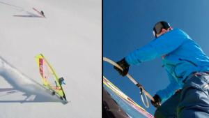 X-Project Athletes Paraglide Over Cliffs in Swiss Alps for New Extreme Sport