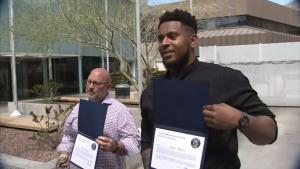 Arizona Woman Rescued by 2 Men Including New England Patriots' Justin Herron