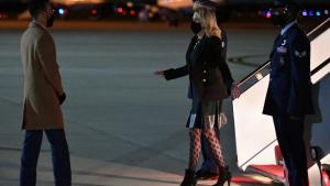 First Lady Jill Biden Steps Out in Fishnet Stockings