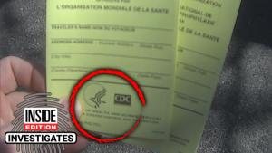 Vaccination Cards Are Being Sold Online for Up to $200