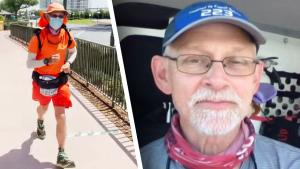 Man Goes on Real Life 'Forrest Gump' Journey From California to Florida