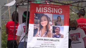 Community Prays for Return of Missing California Mom Maya Millete at Vigil