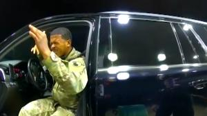 Screaming Cop Who Pepper-Sprayed Army Lieutenant in Traffic Stop Fired