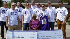 Fraternity Brothers Pay Off House Cook's Mortgage for Her 74th Birthday
