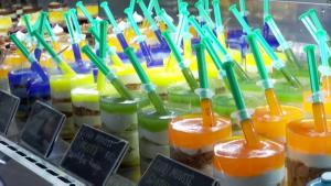 Hungarian Pastry Shop Makes Coronavirus Vaccine-Themed Desserts