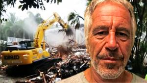 Jeffrey Epstein's Former Palm Beach Mansion Is Demolished