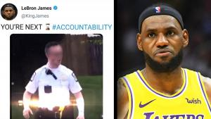 LeBron James on Why He Removed His Tweet Tied to Shooting of 16-Year-Old Girl