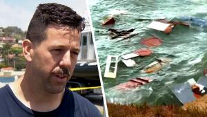 Off-Duty Navy Sailor Helps Survivors of Capsized Boat Get to Floating Devices