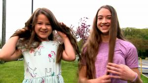 Family Donates Their Hair After Not Getting it Cut for Over 2 Years