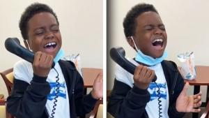 9-Year-Old Blows Everyone Away With His Rendition of the National Anthem