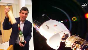 Wine That Spent a Year in Space Could Sell for $1 Million at Auction