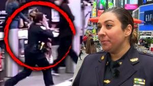 Cop Carries Shot Child to Safety After Bullets Spray Through Times Square