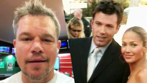 Matt Damon Gets Put in the Hot Seat Over Jennifer Lopez and Ben Affleck Rumors