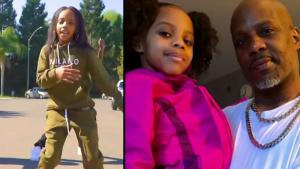 DMX's 8-Year-Old Daughter Takes After Her Dad With 'TikTok Kid'
