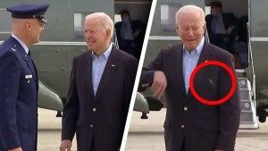 President Biden's Press Plane Gets Grounded by Swarm of Cicadas