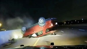 Pregnant Mom Car Flipped by Cops for Allegedly Not Pulling Over Fast Enough