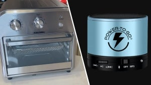 Inside Deals on Air Fryer Oven, Bluetooth Speaker, Bug Zapper Pathway Lights -Up to 82% Off for a Limited Time