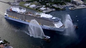 Royal Caribbean Delays Inaugural Cruise After 8 Crew Members Test Positive
