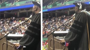 North Carolina Principal Sings 'I Will Always Love You' to Students at Graduation