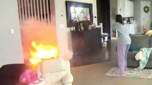 Exploding Hoverboard Nearly Sends Family's House Up in Flames