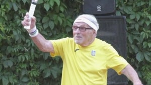 97-Year-Old Athlete From Ukraine Named 'World's Oldest Tennis Player'