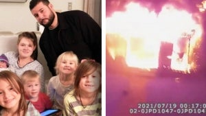 Family Jumping From Burning House Caught and Saved by New York Cop