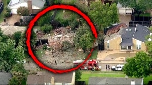 Texas House Explosion So Powerful It Blew Out Neighbors' Windows