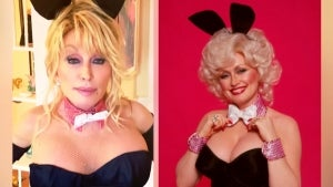 75-Year-Old Dolly Parton Recreates Iconic Playboy Cover for Her Husband