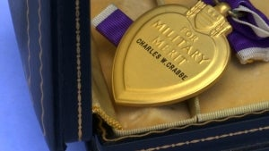 Florida Woman Searches for Family of Lost Purple Heart Medal Recipient