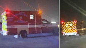 Cops Chase Ambulance Hijacked With Patients Still Inside