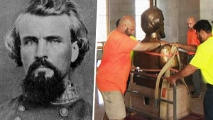 Nathan Bedford Forrest's Bust Removed From Tennessee State Capitol in Nashville