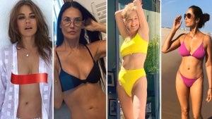 How Celebrities Over 50 Keep Their Beach Bodies in Bikini Shape