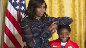 Simone Biles Gets Support From Michelle Obama After Detailing Struggles