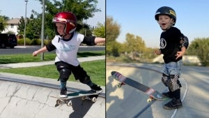 California 3-Year-Old Is Already Better at Skateboarding Than Most Adults