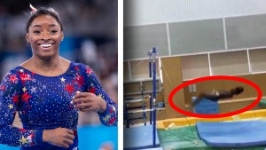 Simone Biles Shares Her Struggles With Landing Her Dismount