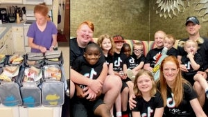 Mom Happily Makes Meals for 10 Kids After Being Told She Couldn't Have Children