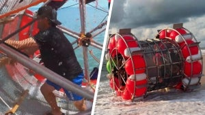 Man Causes Stir When His Homemade 'Hydro Pod' Washes Up on Florida Beach