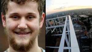 Free Climber Scales Skyscraper in London to Raise Awareness For Climate Change