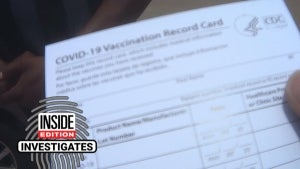 Tracking Down an Online Vaccine Card Seller in Texas