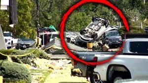 People Run to Take Shelter After Tornado Hits Pennsylvania Car Dealership
