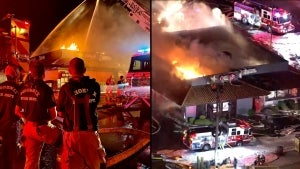 Carl's Jr.-Green Burrito Restaurant Destroyed in 2 Alarm Fire in Phoenix