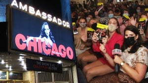 Behind the Scenes at Electrifying Broadway Re-Opening Night of 'Chicago'