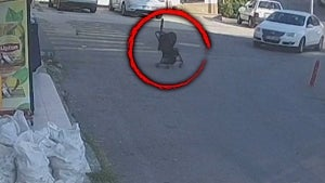 Mom Chases Stroller With Baby Inside as It Rolls Down Steep Street in Turkey