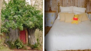 You Can Now Stay at Winnie the Pooh's House in Hundred-Acre Wood