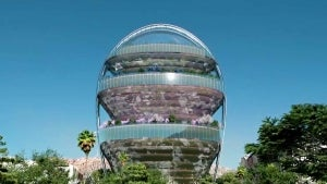Los Angeles Developers Want to Build a Bubble in the Sky